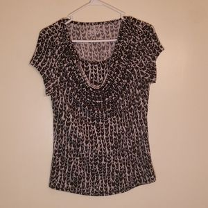 Studio Works Black and White Blouse